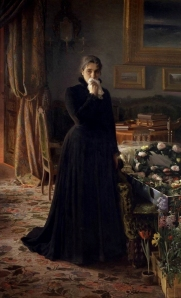 Chagrin inconsolable, Ivan Kramskoy, 1884