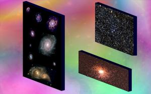 Plusieurs branes flottant dans un multi-univers