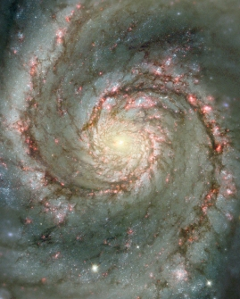 Une galaxie en spirale