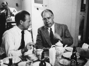 Niels Bohr et Werner Heisenberg
