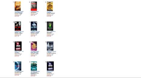 Les meilleures ventes en Fantasy, top 100,