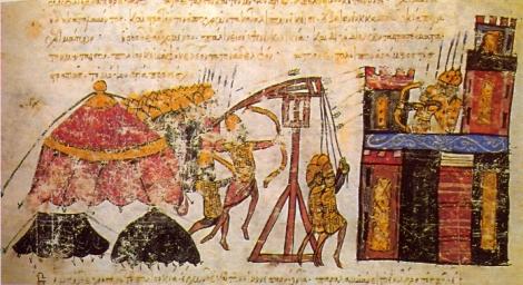 trebuchet byzantin